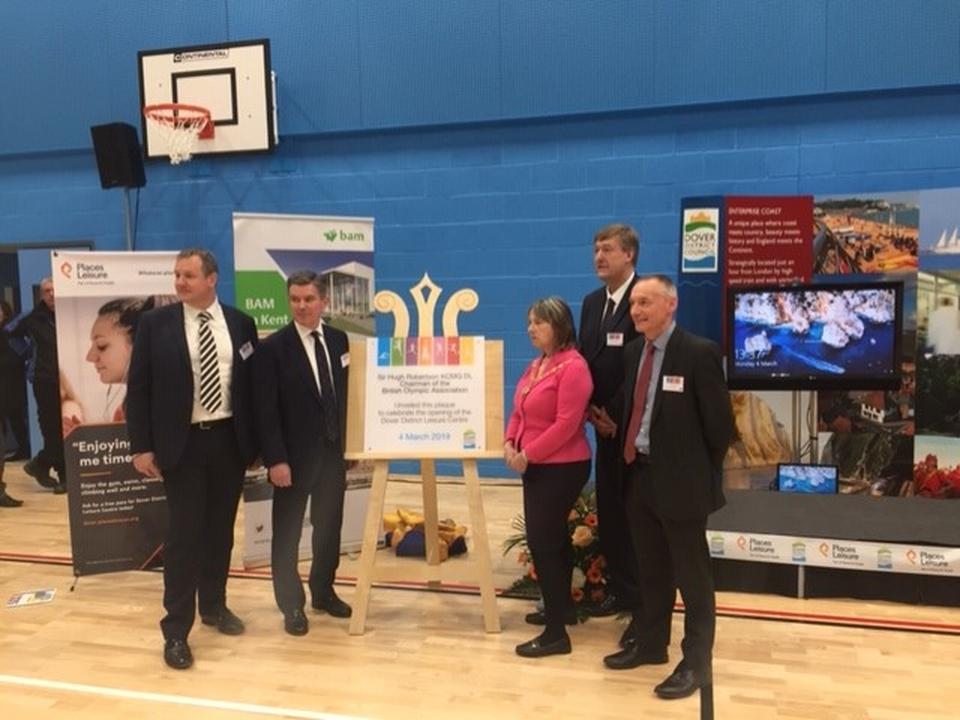 DACT Attended the Official Opening of DOVER DISTRICT LEISURE CENTRE