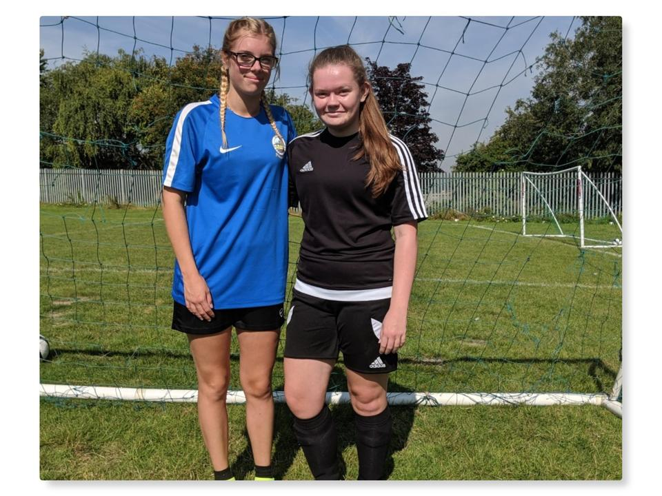 Community Trust Girls Achieve Coaching Badges